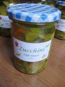 1 - Zucchini-süß-sauer