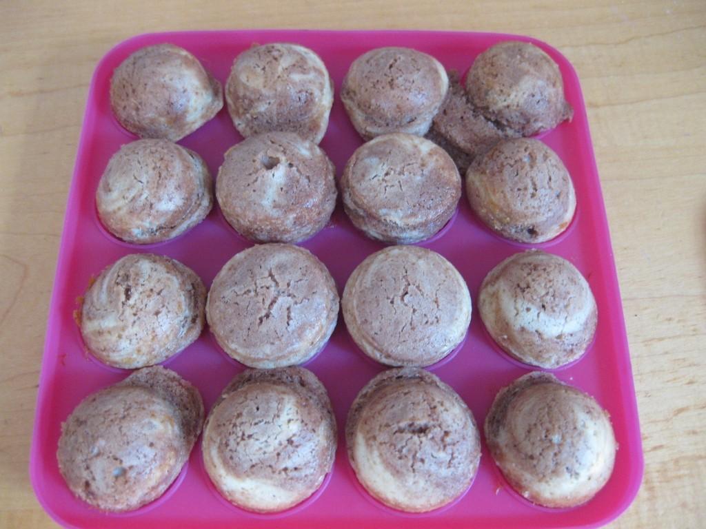 2 Marmor Cake Pops - fertig