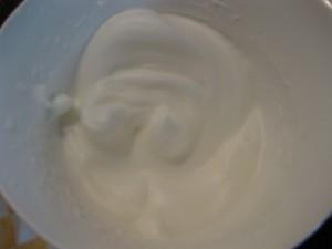 4 Pfirsich-Melba-Torte - Eischnee