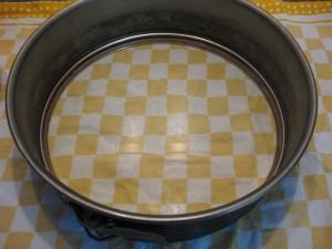 9 Pfirsich-Melba-Torte - Kuchenform