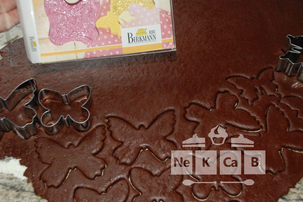 Ausstechkekse Schokolade - 1