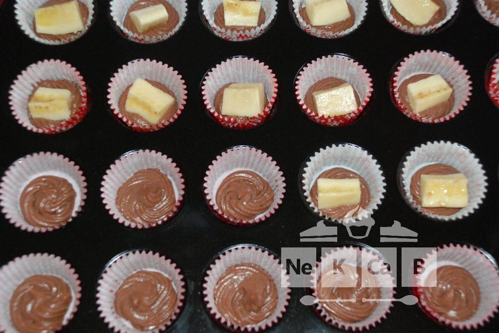 Schokoladen-Bananen-Mini-Muffins - 1