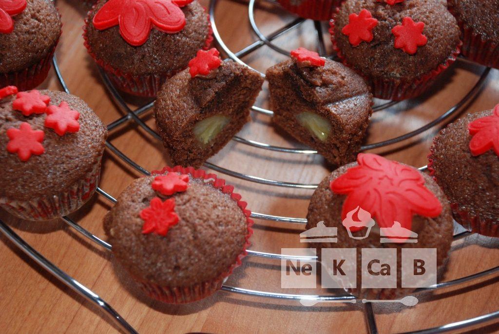 Schokoladen-Bananen-Mini-Muffins - 5