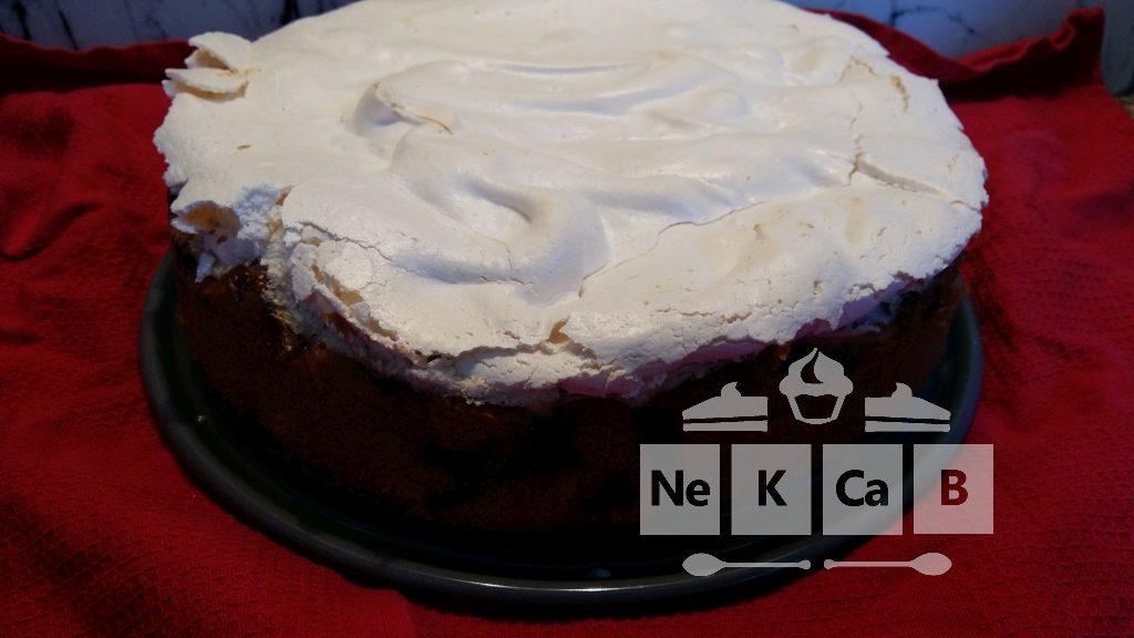 Rhabarberkuchen mit Baiserhaube - 1