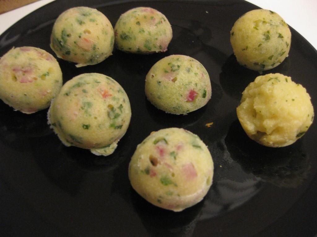 0 Herzhafte Cake Balls mit Kräutern