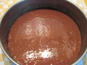 11 Pfirsich-Melba-Torte - Teig für Boden