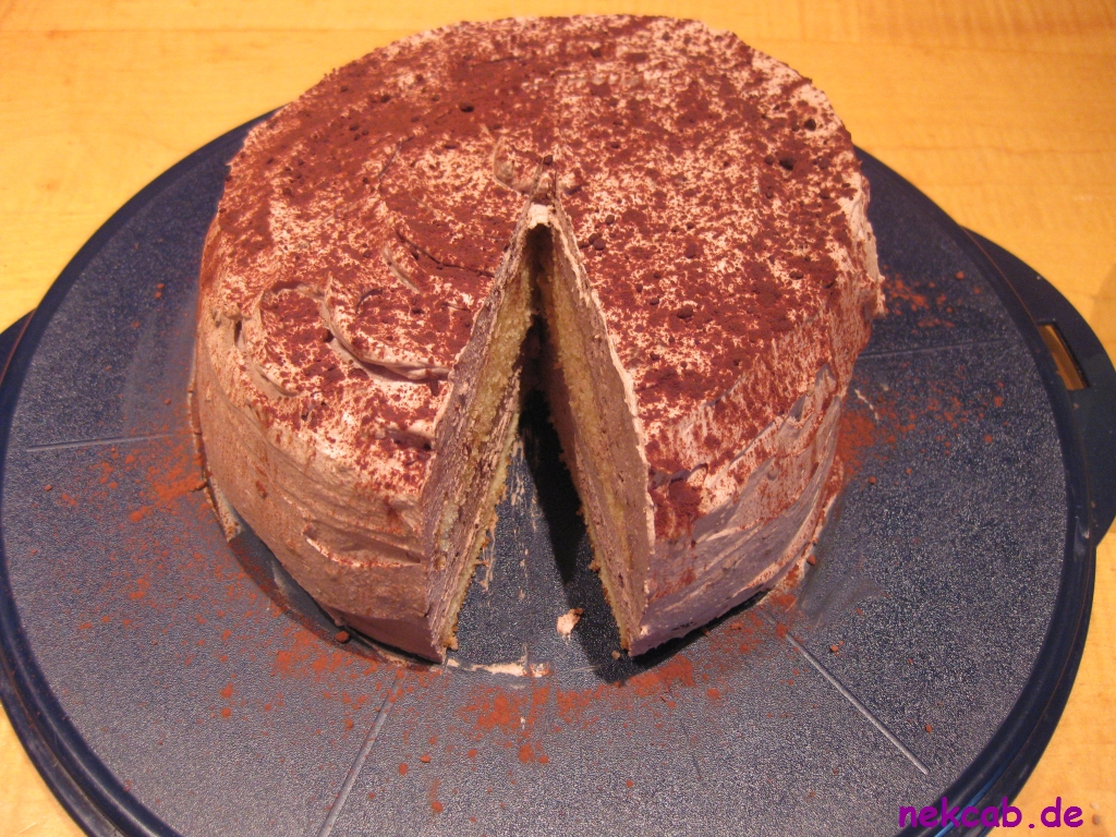 Kleine Schoko Torte à Dr Oetker Nekcab