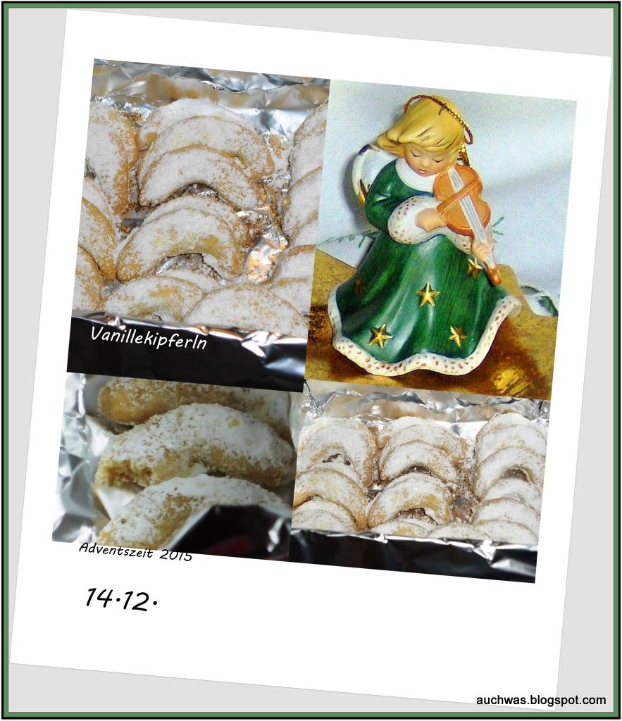 14 Adventskalender - Vanillekipferl -1