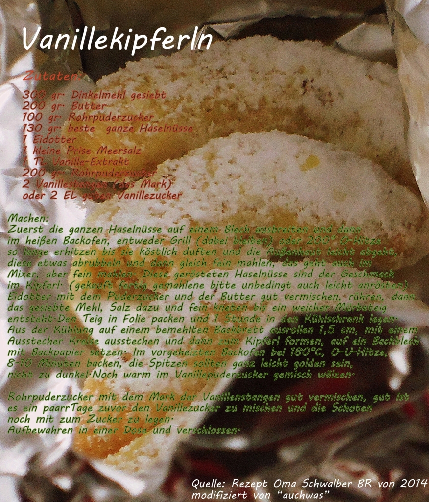 14 Adventskalender - Vanillekipferl -2
