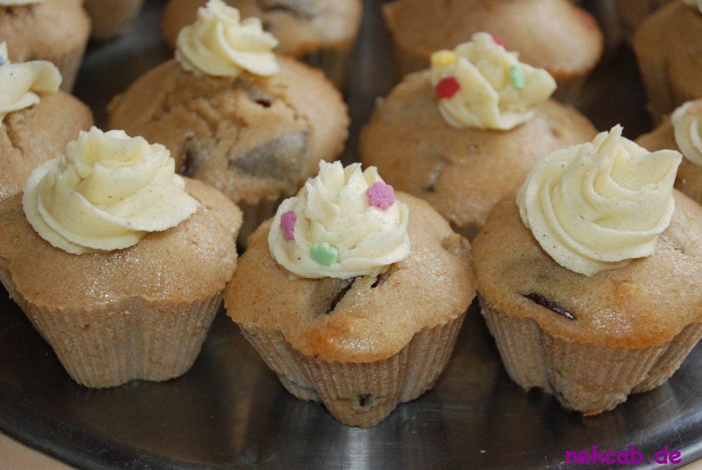 Pflaumen-Zimm-Vanille-Cupcake - 2