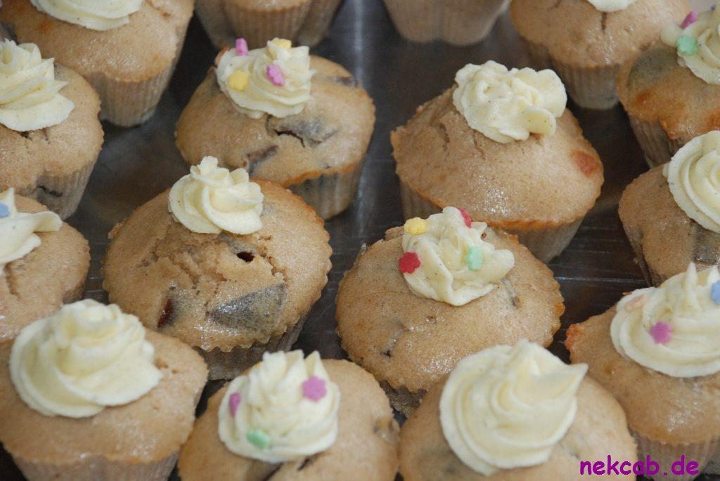 Pflaumen-Zimm-Vanille-Cupcake - 3
