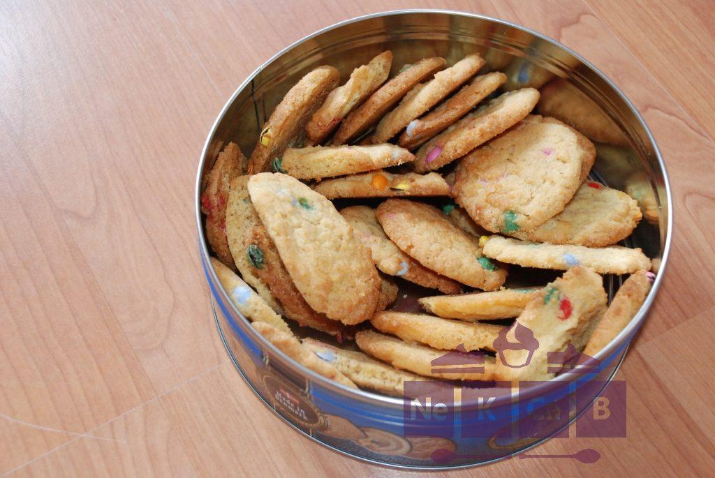 Cookies mit Schokolinsen - 1