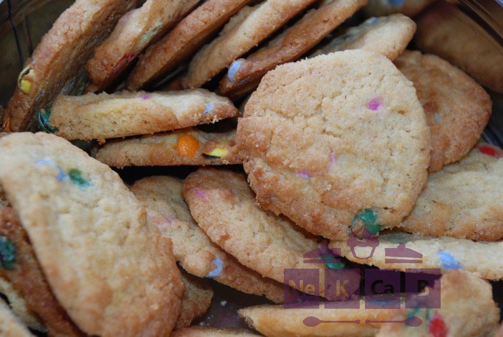 Cookies mit Schokolinsen - 2