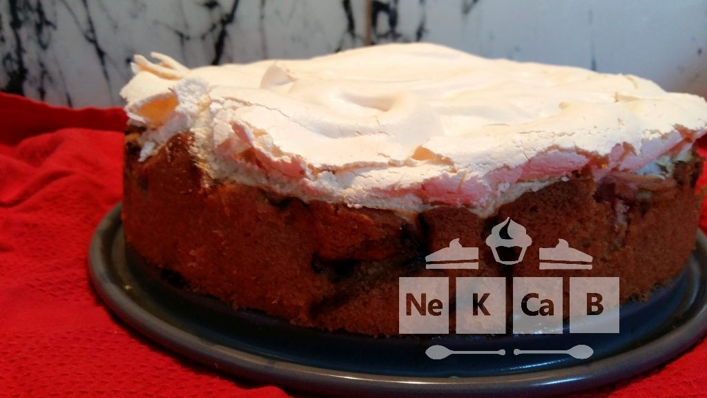 Rhabarberkuchen mit Baiserhaube - 2